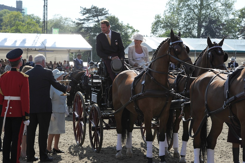 Team Weber Rules at Royal Windsor Horse Show