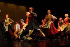 Traject Vlaamse Folklore