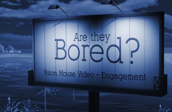 Are your video viewers and web site visitors bored?