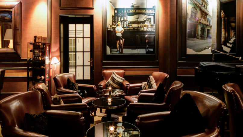 The Very Best Hotel Cigar Lounges