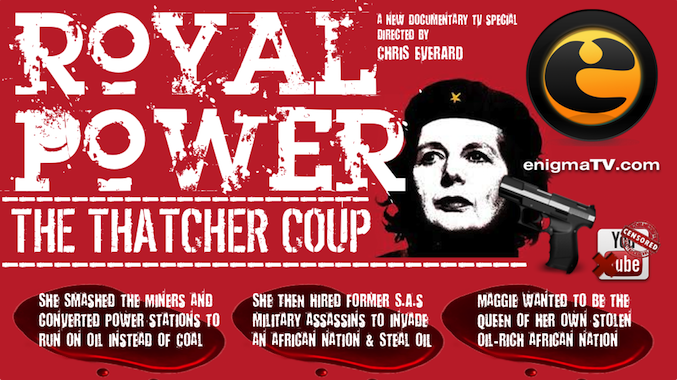 Maggie Thatcher's Planned Blood Bath in Africa