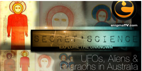UFOs, Aliens & Pharaohs in Australia