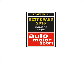 "Premium Wheel Manufacturer BBS retains ""Best Wheels"" title for 2016"