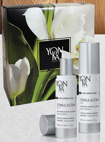 Yonka Stimulastine Day & Night Cream and Alpha contour eye gel