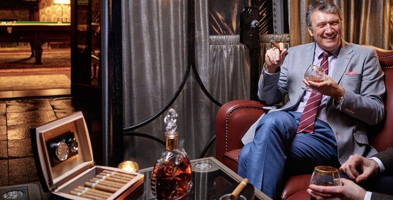 ashford castle cigar lounge