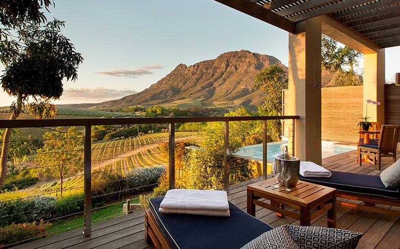 Delaire Graff Estate, Stellenbosch, South Africa