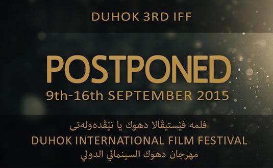 Duhok IFF Postponed to 2015