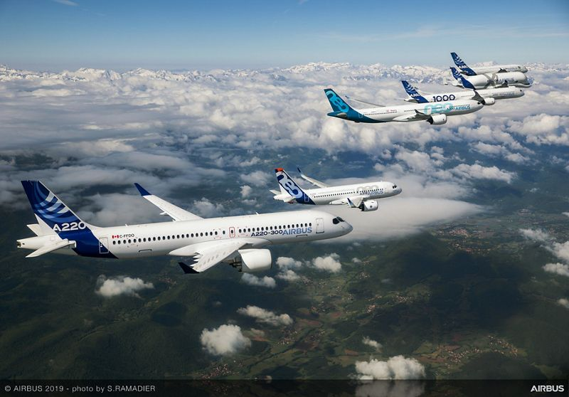 Airbus, 363 ordini e impegni durante tutto il Salon du Bourget