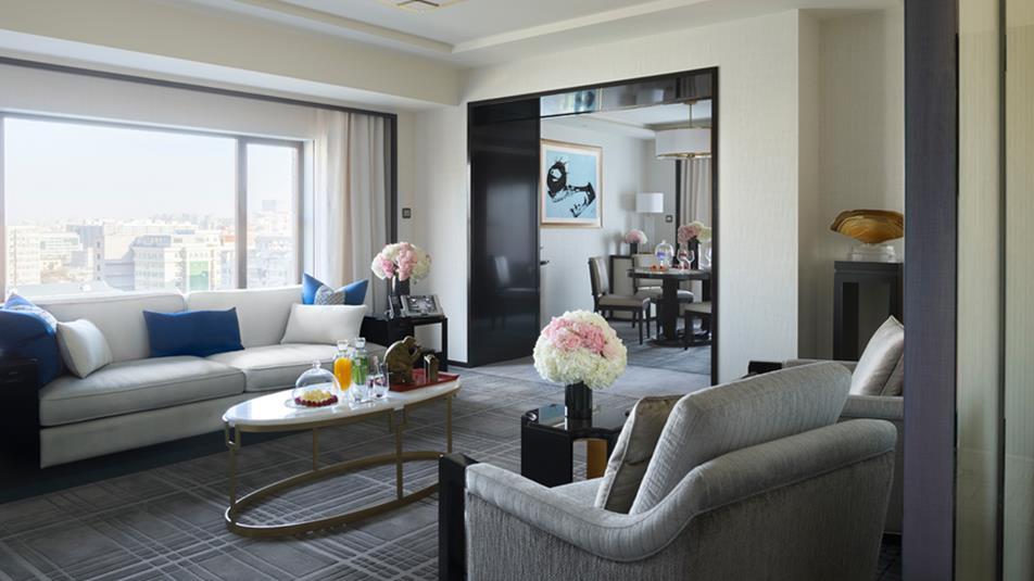 peninsula beijing suite
