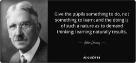 John Dewey, Democracy & Education