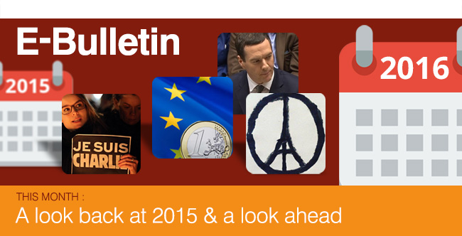 This Month : A look back at 2015 and a look ahead