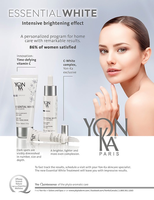 Yonka Essential White Intensive Brightening program