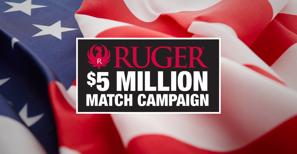 Link to Ruger Matching Contribution Page