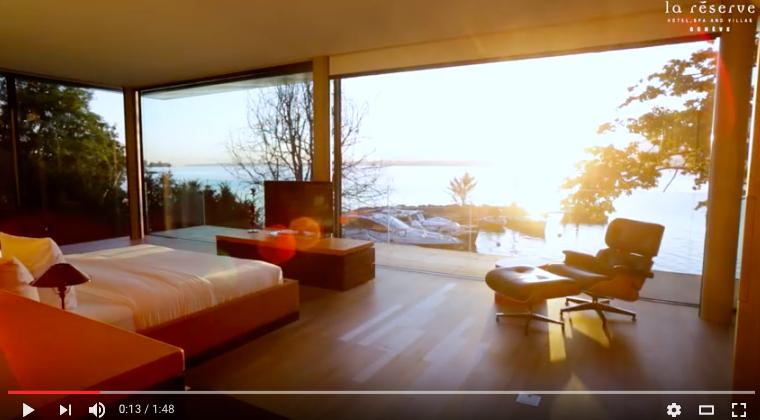Take a video tour of Villa du Lac