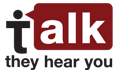 Talk. They Hear You. Campaign website