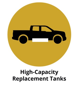 Replacement fuel tanks