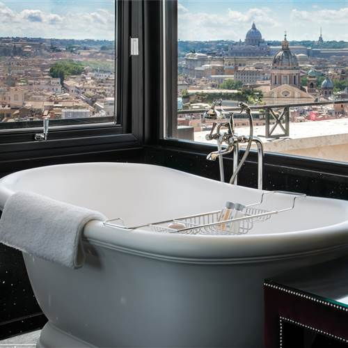 best hotel suites in Rome Italy