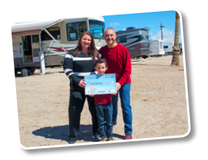Horeczko Family - Grand Prize Winners