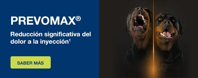 PREVOMAX® - Reducción significativa del dolor a la inyección1