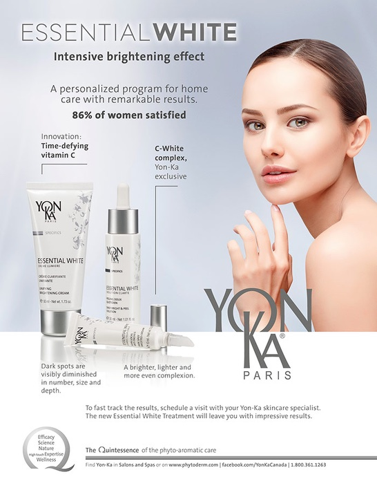 Yonka Essential White Intensive Brightening program