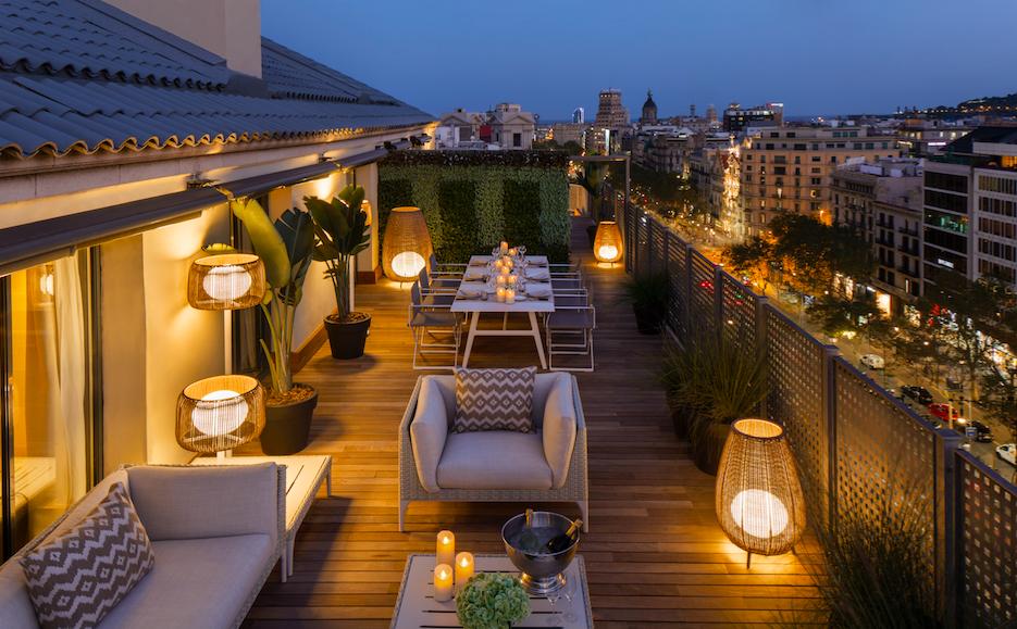 Majestic Hotel Royal Penthouse Suite