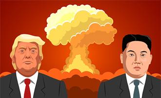 Us and North Korea tension