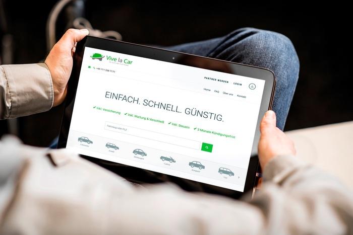 Auto-Abo-Plattform Vive la Car macht nun auch Bestandsfahrzeuge österreichischer Händler mobil