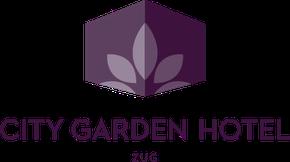 City Garden Hotel save-the-date logo