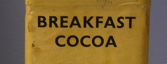 """Lebensmittelkonserve """"Breakfast Cocoa"""""""