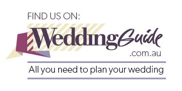 Find us on WeddingGuide.com.au banner