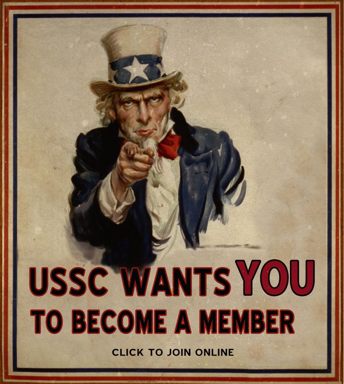 Join the USSC - Uncle Sam Poster