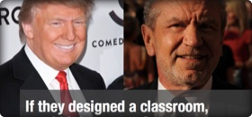 If Trump designed a classroom