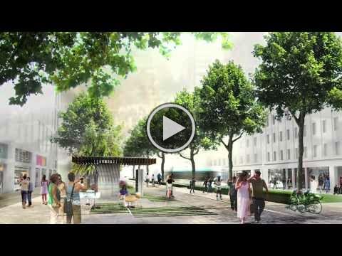 Rethink Athens- towards a new city center