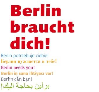 Berlin braucht dich!