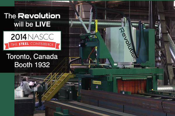 The Revolution will be LIVE - NASCC