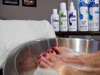 Pedicure and Manicure treatment