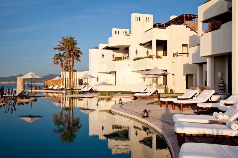 Oceanfront Rooftop Terrace Junior Suite Las Ventanas