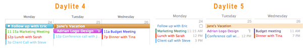 Refined Calendars