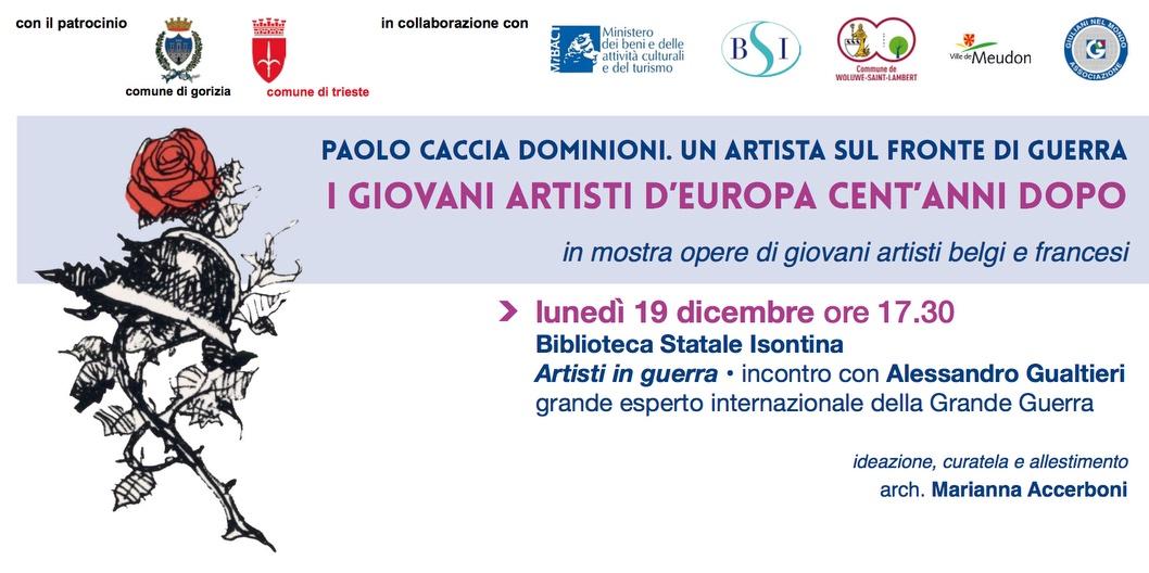 Artisti in Guerra, 19 Dicembre, Biblioteca Statale Isontina di Gorizia