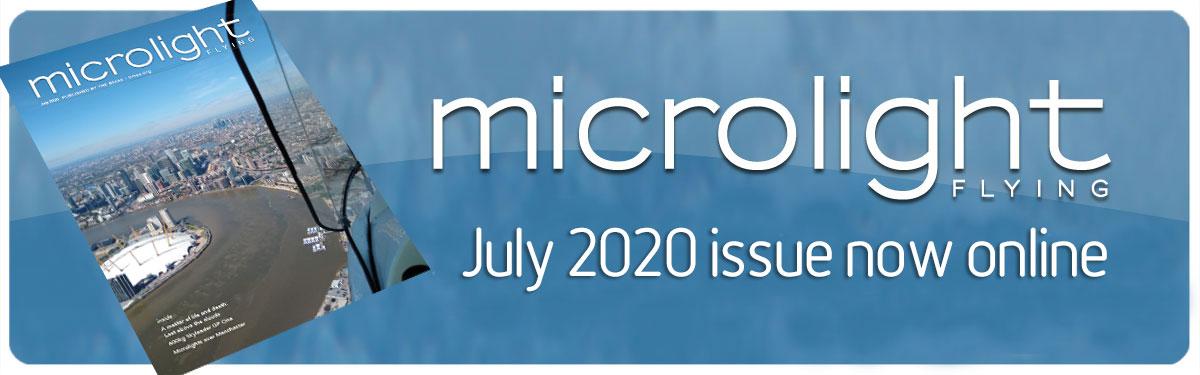 Microlight Flying June 2020