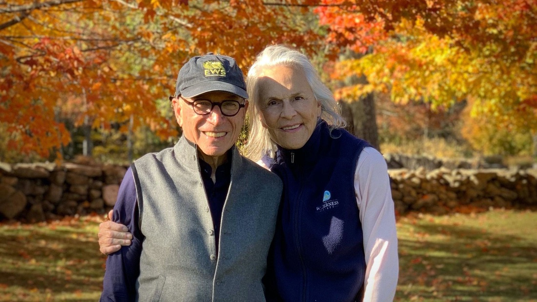 Carl and Judy Ferenbach, pictured at their Vermont farm.