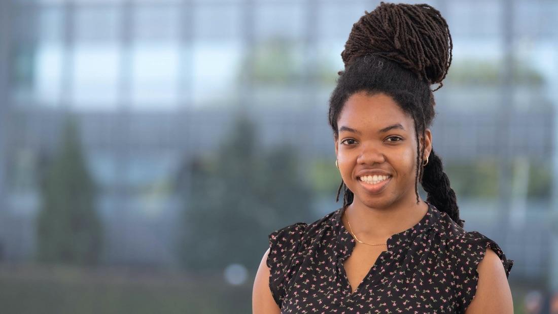 Chemistry Ph.D. student Brooke Johnson