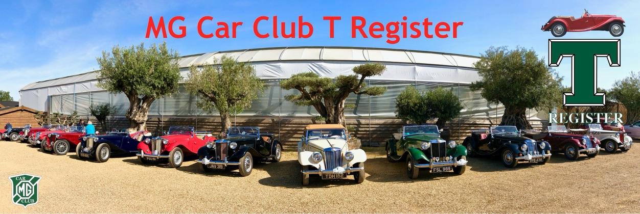 MG Car Club T Register Newsletter no 59 NOVEMBER 2020