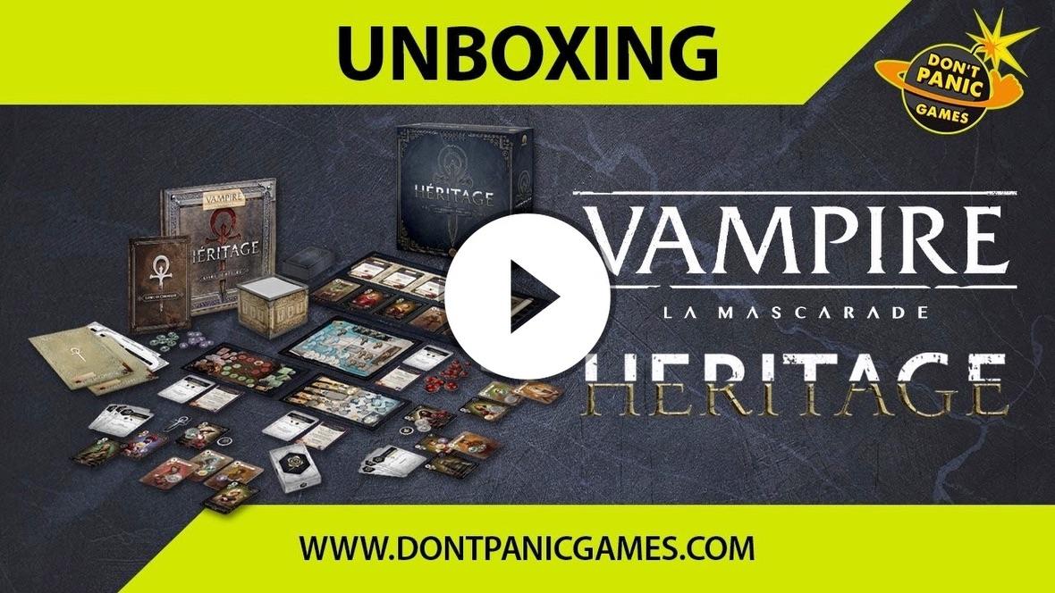 [UNBOXING] 🩸VAMPIRE LA MASCARADE HERITAGE🩸 : unboxing